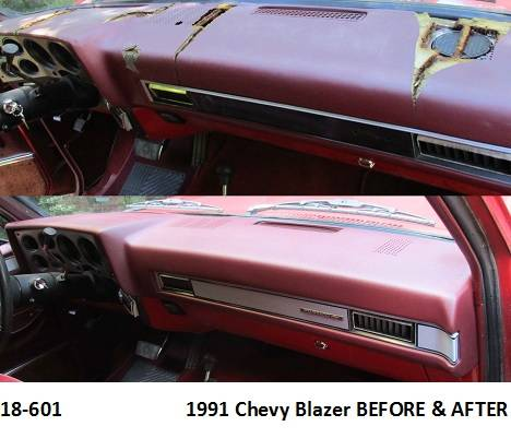 18-601  1991 Chevy Blazer Before & After