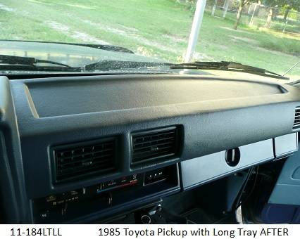 11-184LTLL  1985 Toyota Pickup with Long Tray After