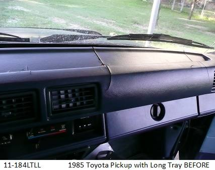 11-184LTLL  1985 Toyota Pickup with Long Tray Before